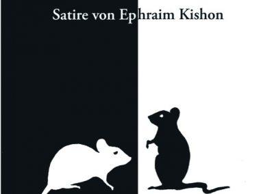 Plakat Schwarz auf Wei _ Kishon Plakat